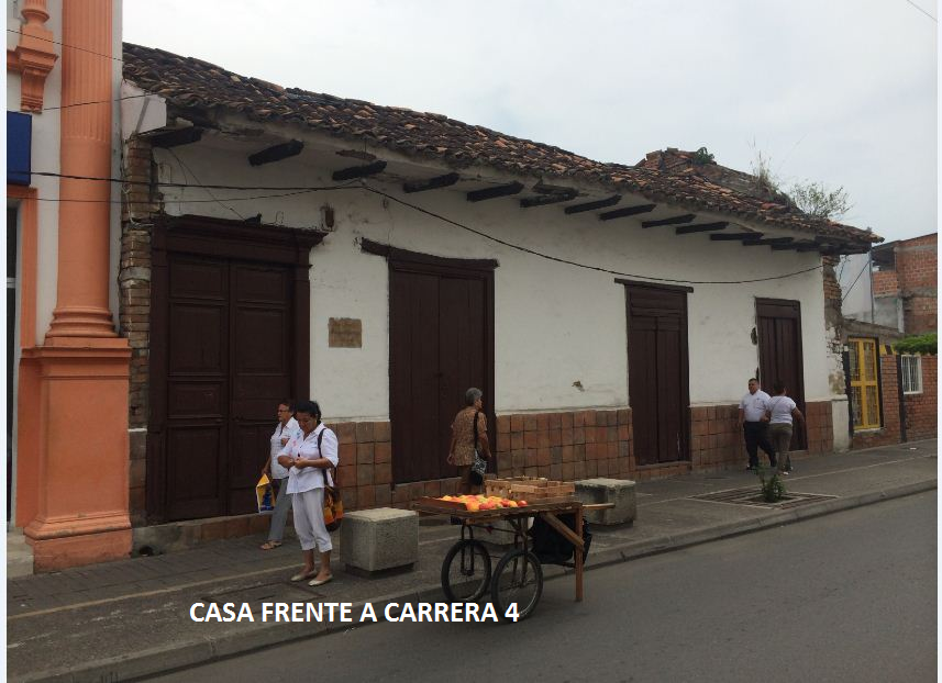 Casa colonial en Cartago